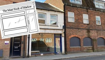 Plans for a new butchers shop on Chapel Street