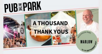 Pub in the Park – A THOUSAND THANK YOU'S