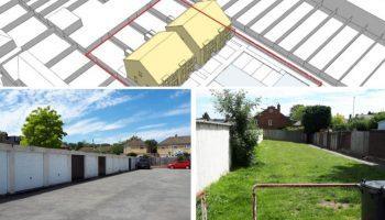*REFUSED* Development of Garage Site,  Marefield Road