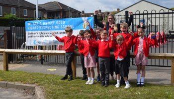 Sandygate School receives prestigious UNICEF UK Gold Award