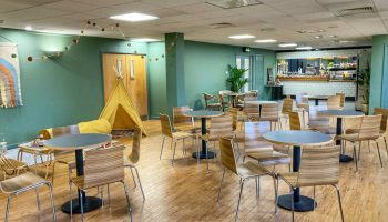 The M Cafe – the new cafe at Court Garden
